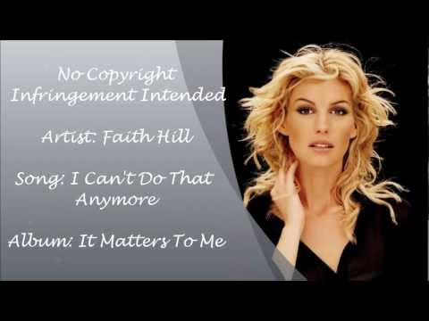 Faith Hill - I Can