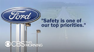 Ford sued by police officers who say they were poisoned by design flaw