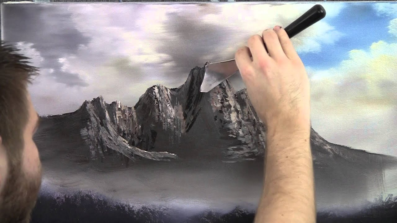 Paint With Kevin Hill Jagged Peaks YouTube
