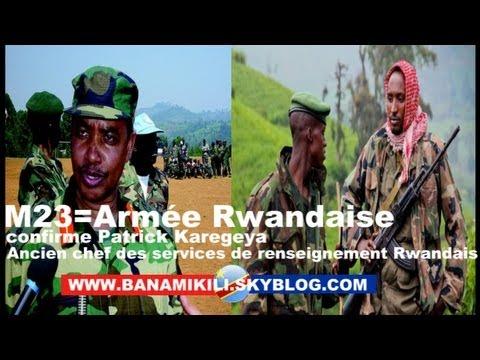 Exclusif:Le Chef de renseignement Rwandais confirme que Bosco Ntanganda et le M23 sont Rwandais