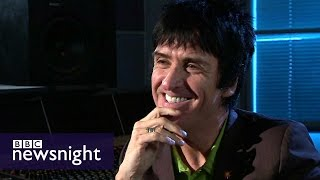 Johnny Marr on The Smiths, Oasis and advice from Paul McCartney - BBC Newsnight