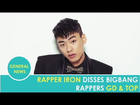 Rapper Iron disses Big Bang's G-Dragon and T.O.P in new track 'SYSTEM'