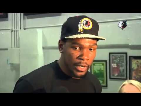 Emotional Kevin Durant on donating to Oklahoma tornado relief efforts