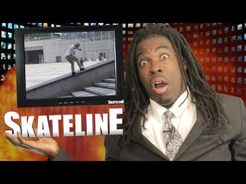 SKATELINE - KADER DOES A KICKFLIP!? Andrew Reynolds, Tyson Peterson, Carlos Ribeiro, John Dilo