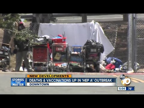 """Deaths & Vaccinations up in """"Hep A"""" Outbreak"""