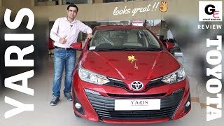 Toyota Yaris VX Automatic | launched | detailed  review | features | price | specifications !!!!