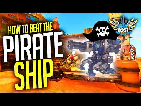 Overwatch - How to BEAT the PIRATE SHIP! (Beat Bastion Cheese Guide)