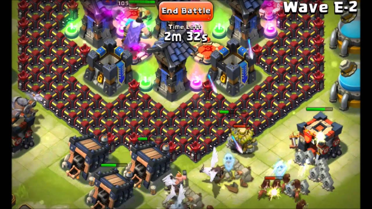 Castle Clash Here Be Monsters - YouTube