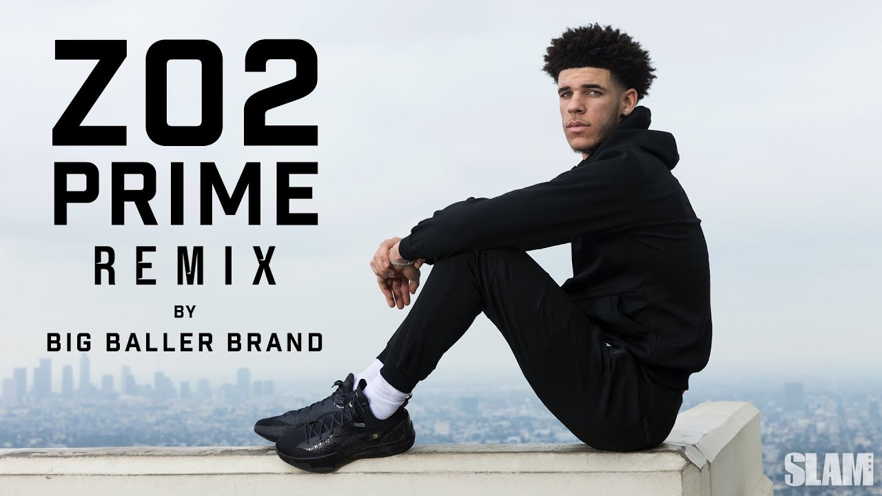 EXCLUSIVE: Lonzo Ball Reveals the New Design for the BBB ZO2 Prime