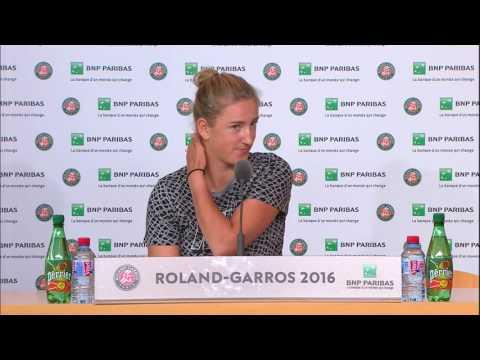 Victoria Azarenka Roland Garros 2016 Interview