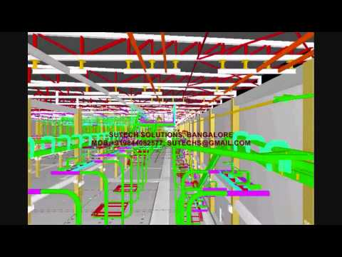 3D FACTORY / PLANT LAYOUT MODELING Video