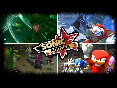 SONIC FORCES NEWS - NEW STORY TRAILER REVEALS NEW CHARACTERS & STAGES