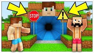 HO TROVATO IL TUNNEL SEGRETO DI LUCA! - Minecraft ITA