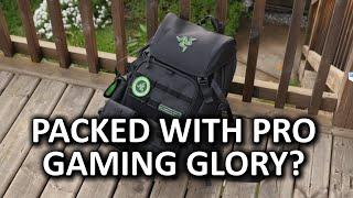 "Razer Tactical Bag - ""Intense Gamer Gear!"" or Sensible Backpack?"