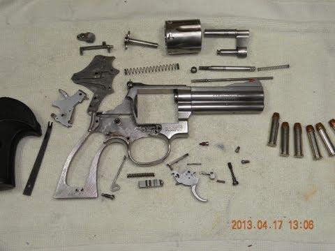 Revólver Smith & Wesson 686 - Desarme Completo y Funcionamiento Interno