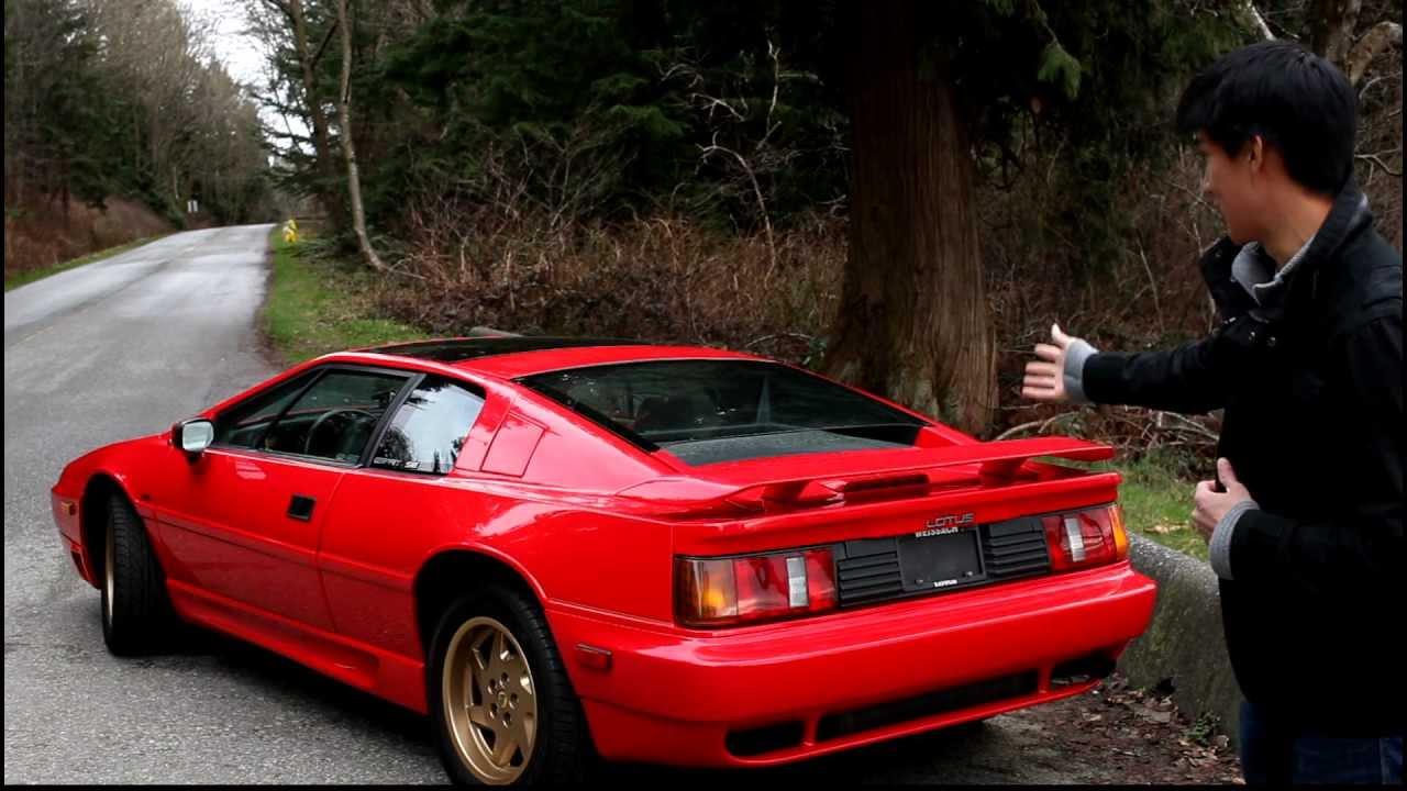143car Com My Car Ron Joe S 1990 Lotus Esprit Turbo Se Youtube