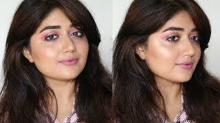 Makeup Tutorial : Pink + Glitter