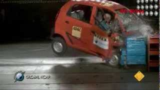 Tata Nano falls short of global crash test standards
