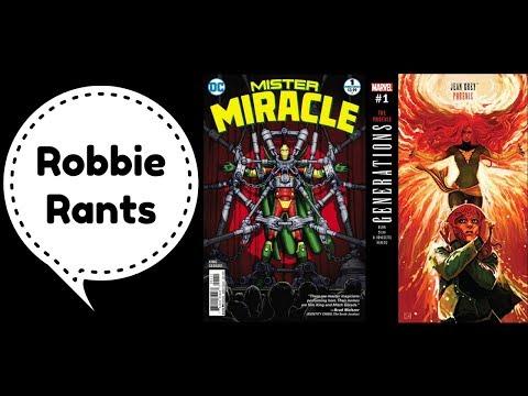 Weekly Comic Book Review 08/09/17 - Robbie Rants #108