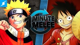 One Minute Melee - Naruto Vs Luffy