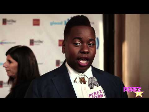 EXCLUSIVE! Alex Newell On How His Glee Role Helps LGBT Issues At The 2014 GLAAD Media Awards!