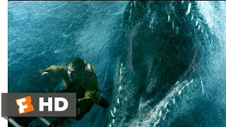 Jurassic World: Fallen Kingdom (2018) - Mosasaurus Attack Scene (1/10)   Movieclips