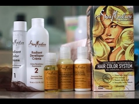 Shea Moisture Medium Golden Blonde Review YouTube