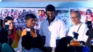 Actor Vishal speech in Sri Lankan refugee camps