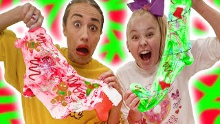 MAKING HOLIDAY SLIME WITH MIRANDA SINGS!!