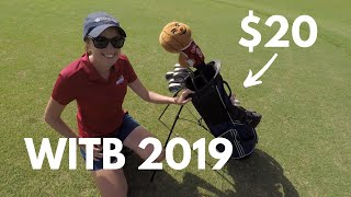 BIGGEST GOODWILL GOLF FIND EVER?!?! (ASHLEY'S WITB 2019!!)