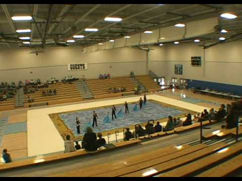 Warner Christian Academy Winterguard, first show ever