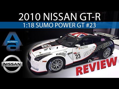 1:18 AUTOart Nissan GT-R - FIA GT1 World Championship 2010 - Sumo Power GT #23