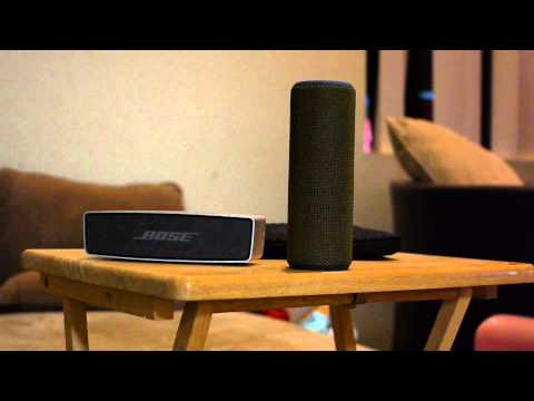 Bose Soundlink Mini versus UE Boom comparision