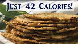 Low Carb Cauliflower Tortilla / No-Flour Tortilla - Weight Loss Recipe