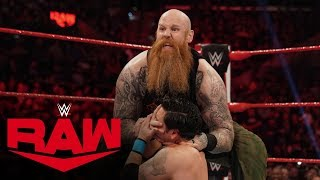 Erick Rowan vs. Branden Vice:  Raw, Jan. 27, 2020