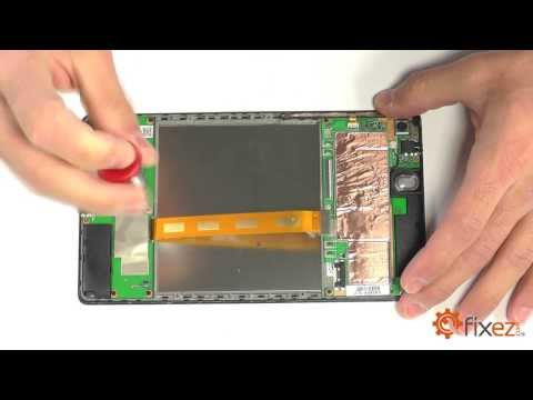 Nexus 7 (2013) Screen Repair & Disassemble