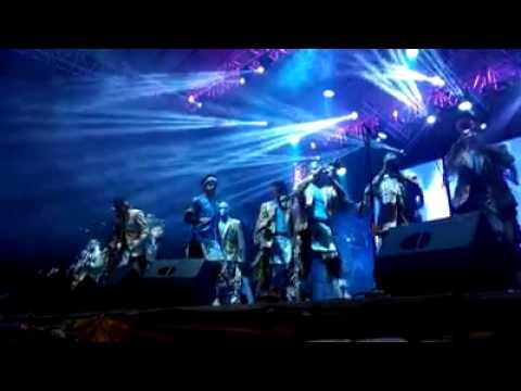 Banda Cuisillos en  XX Aniversario La Comadre 101.7