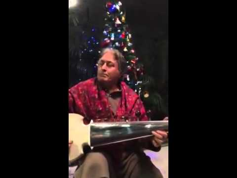 Ustad Amjad Ali Khan plays 'Jingle Bells'