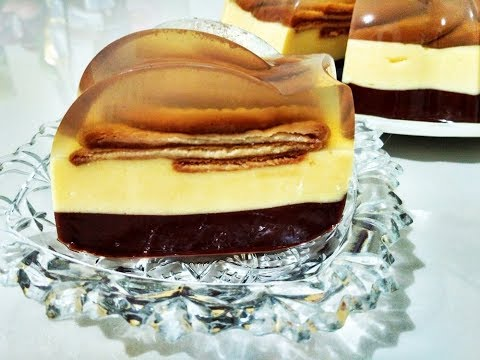 Resep PUDING BISKUIT MARIE / MARIE BISCUIT PUDDING