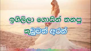 Raththaran Duwe Ape Karaoke (without voice) - රත්තරන් දුවේ අපේ රත්තරන් දුවේ