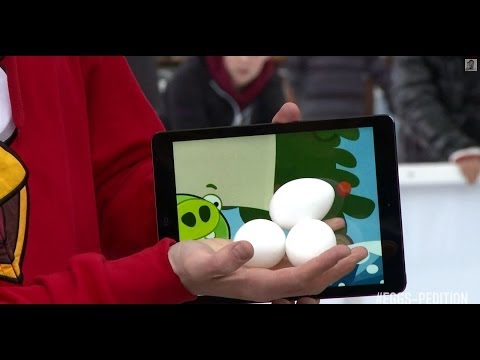 Angry Birds iPad Magic
