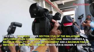 Two former immigrations officers charged with graft