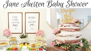 Jane Austen Mommy Daughter Tea Party Baby Shower and Deck Demo | 8 Week Countdown to Baby #3