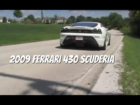 Ferrari F430 Scuderia--Test Drive Video Review with Chris Moran from Chicago Motor Cars