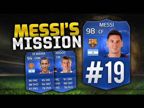 FIFA 15 RTG - Messi's Mission #19 'TOTY Cards & TOTS Hype?!' - TOTY Messi RTG!