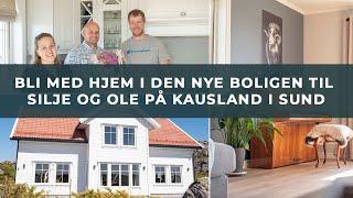 Boligreportasje fra Sund: Bli med inn i den nye boligen til Silje og Ole på Kausland
