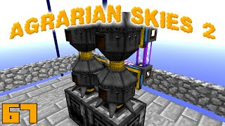 Minecraft Mods Agrarian Skies 2 - LIVINGWOOD ROD [E67] (Modded Skyblock)