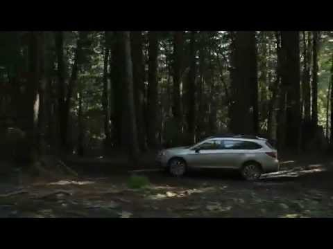 2015 Subaru Outback driving footage