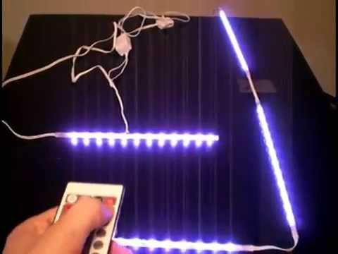 led kit with remote more functions than ikea dioder youtube. Black Bedroom Furniture Sets. Home Design Ideas