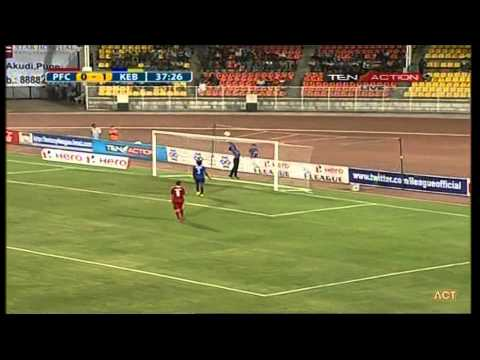 Hero I-League 2015 Pune FC (2) vs Kingfisher East Bengal (3) 11-4-2015